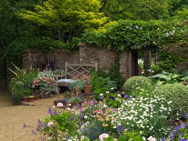 Vorgarten gestalten - 33 Bilder und Gartenideen - kleinen vorgarten gestalten