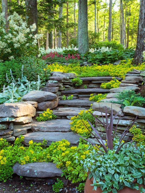 Garten Am Hang Anlegen Und Schöne Hangbeete Bepflanzen - garten am hang