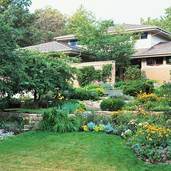 Gartengestaltung am Hang - Wie können Sie einen Hanggarten gestalten - gartengestaltung hanglage