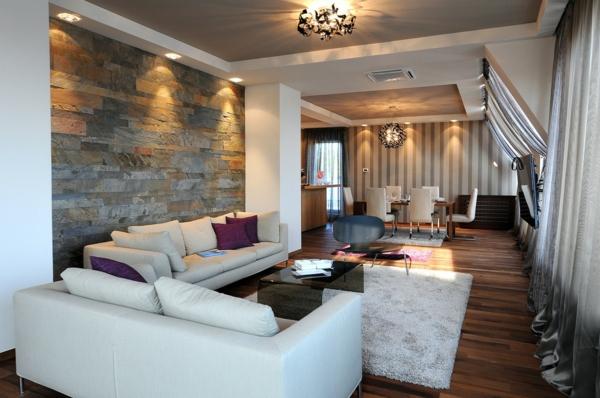 Moderne Wohneinrichtung Ideen - Trends 2014 - beleuchtung wohnzimmer ideen