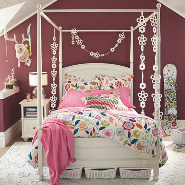 20 komfortable Jugendzimmer mit Dachschräge gestalten - dekoration farbe fur dachschragen