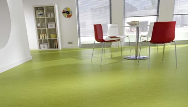 Linoleum Bodenbelag In Holzoptik Moderne Alternative Zum