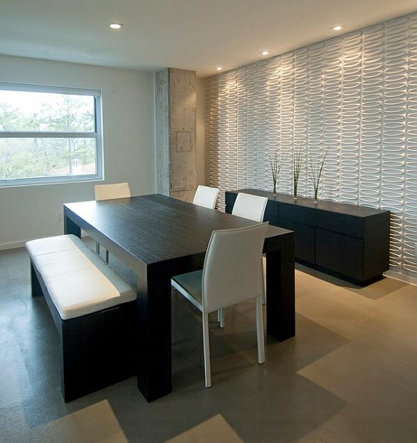 stunning minimalistische einrichtungsideen weises esszimmer ideas ...
