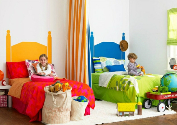 30 Ideen für Kinderzimmergestaltung - ergonomische Gemütlichkeit - babyzimmer madchen und junge