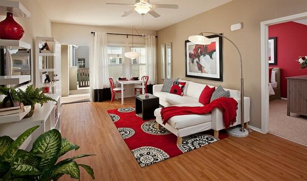 wohnzimmer rot weis. wohnzimmer schwarz weis rot gorgeous ... - Wohnzimmer Rot Schwarz Weis
