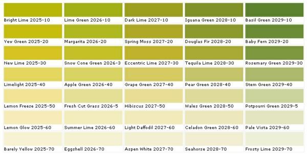 Farbpalette Wandfarbe Hammer ~ Speyedernet u003d Verschiedene Ideen - gelb grun wandfarbe