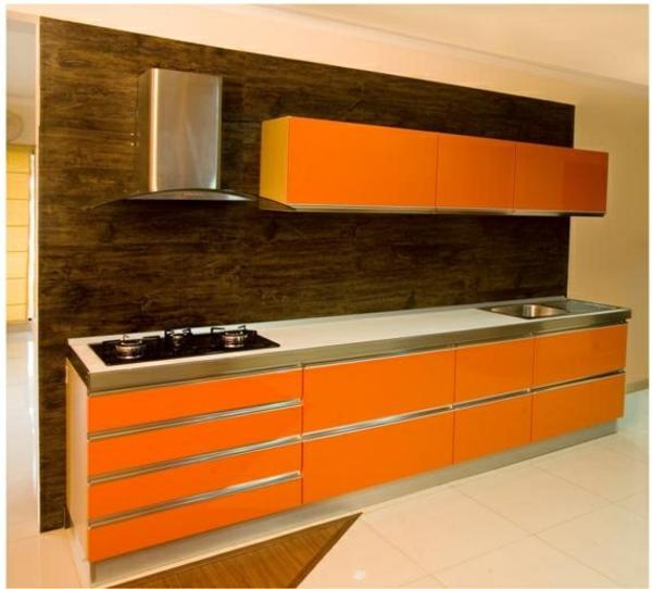 Orange Kuche Energieschub U2013 Edgetagsinfo   Designer Kuche Aus Edelstahl  Warmendes Goldstuck
