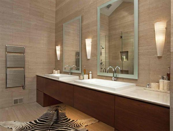Modernes badezimmer designer badspiegel  wohndesign : kühles moderne dekoration: badezimmerspiegel design ...