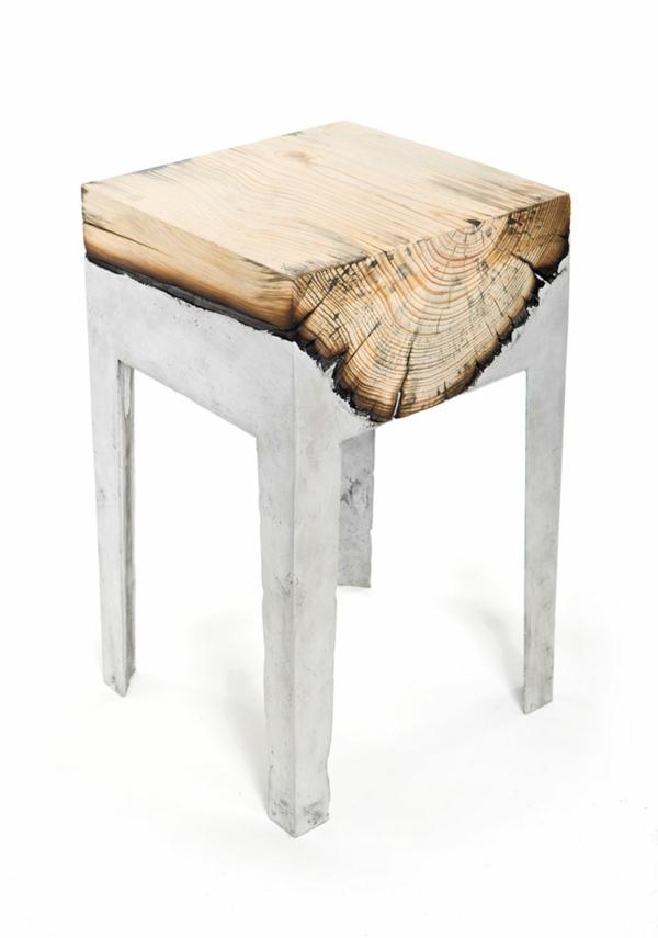 Designer Kommode Aus Holz Naturliche Gelandeformen - Design