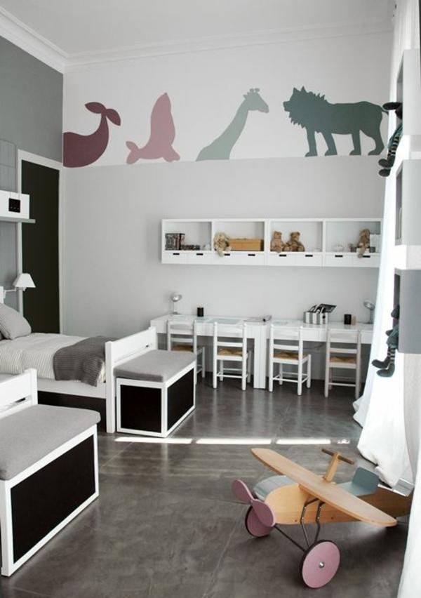 Kinderzimmer für Jungs - farbige Einrichtungsideen - kinderzimmer gestalten junge