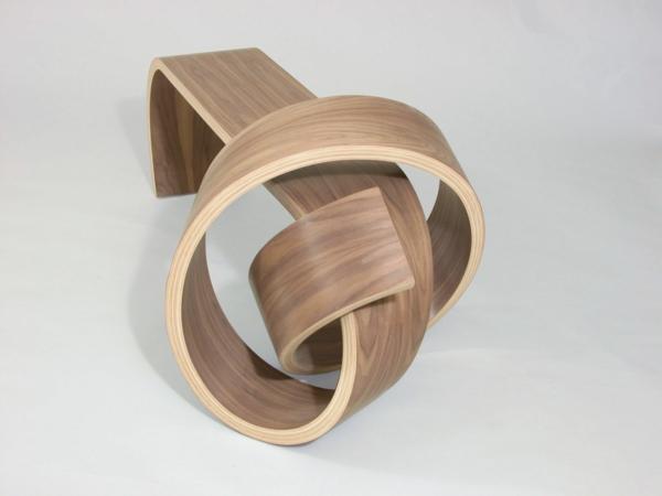 Designermöbel holz  Designermobel Nach Pierre Leron Designertisch Aus Mandelbaum Holz ...