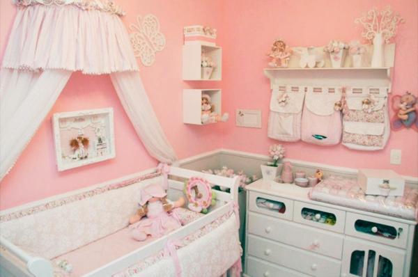 Babyzimmer komplett gestalten - kinderzimmer gestalten madchen