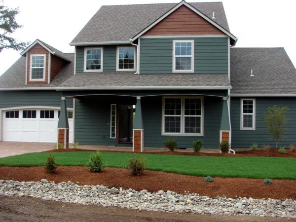 Fassadenfarbe Grau Braun olegoff - haus ausenfarbe grau