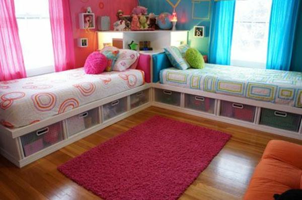 Kinderzimmer gestalten - Tolles Kinderzimmer für zwei Mädchen - kinderzimmer gestalten madchen