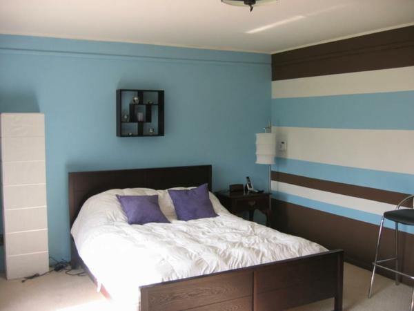 Schlafzimmer Wandfarbe auswählen und ein modernes Ambiente gestalten - schlafzimmer gestalten wandfarbe