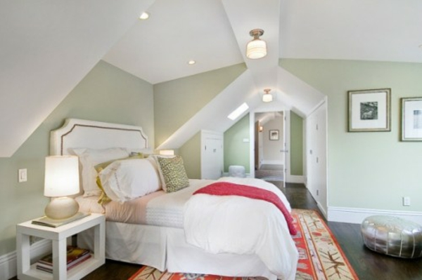 Schlafzimmer Tapeten Für Dachschrägen
