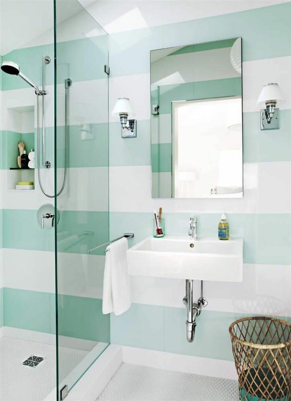 Kleines Bad Fliesen - helle Fliesen lassen Ihr Bad größer erscheinen - kleines badezimmer fliesen ideen