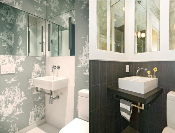Kleines Bad einrichten - nehmen Sie die Herausforderung an! - kleines badezimmer fliesen ideen