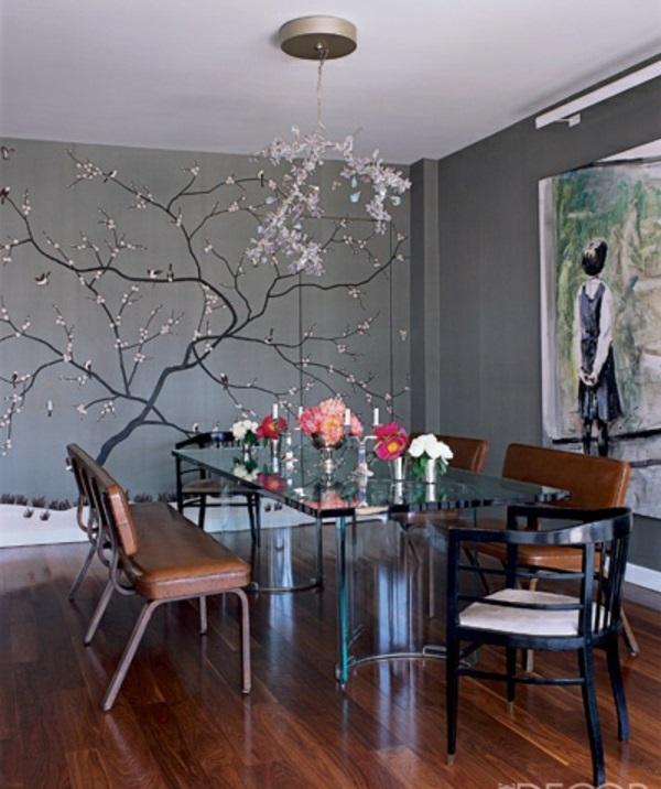 Esszimmer Graue Wand u2013 edgetagsinfo - esszimmer graue wand