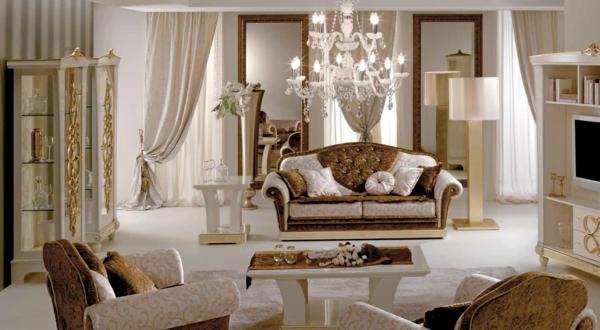 Italienische Stilmöbel - 50 moderne und klassische Polstermöbel - klassisch italienischen mobeln