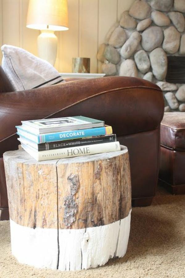 Amazing Tisch Aus Baumstamm Selber Machen Fabulous Baumstamm Hocker  Baumstamm Hocker Selber Machen With Tisch Aus Baumstamm Selber Machen
