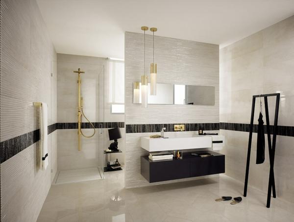 ... Italienische Fliesen Von Fap Ceramiche Repräsentieren Ewiges    Badezimmer Zwischenwand ...