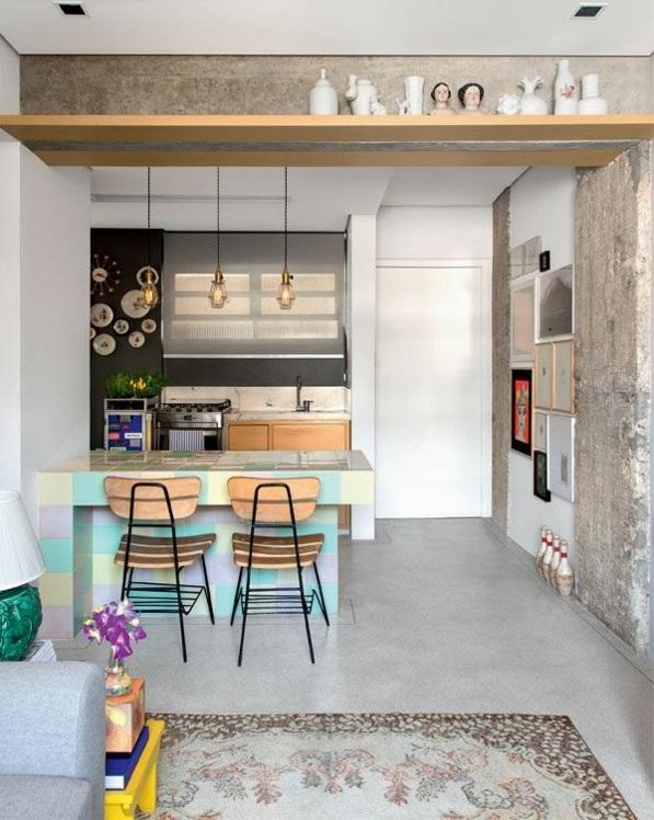 Kleine Wohnung Einrichten ~ Kreative Bilder für zu Hause Design - 50 qm wohnung einrichten