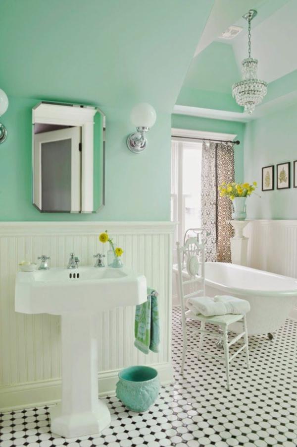 Badezimmergestaltung Ideen, die gerade voll im Trend liegen - badezimmer 30er jahre