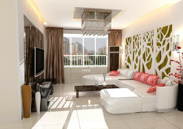 Wohnzimmer Wandgestaltung -Ein paar stilvolle Vorschläge für die Wände - wohnzimmer vorschlage