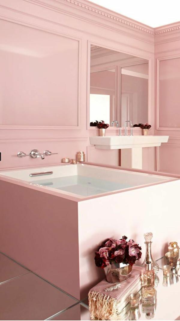 Modernes Badezimmer   Verschiedene Mögliche Stile Fürs Moderne Bad    Badezimmer Rosa