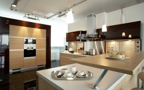 Direkte und indirekte Beleuchtung für Küche - kuche beleuchtung