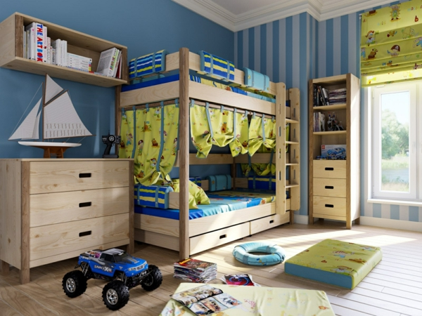 Jungenzimmer gestalten-Inspirierende Kinderzimmer Ideen nur für Jungen - kinderzimmer gestalten junge