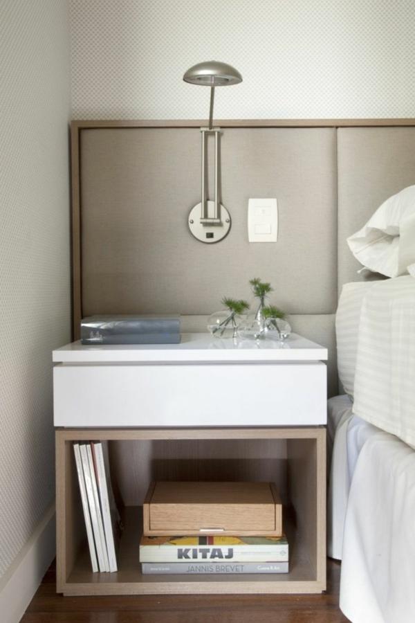 Der Nachttisch und seine Rolle im modernen Schlafzimmer - designer nachttische schlafzimmer