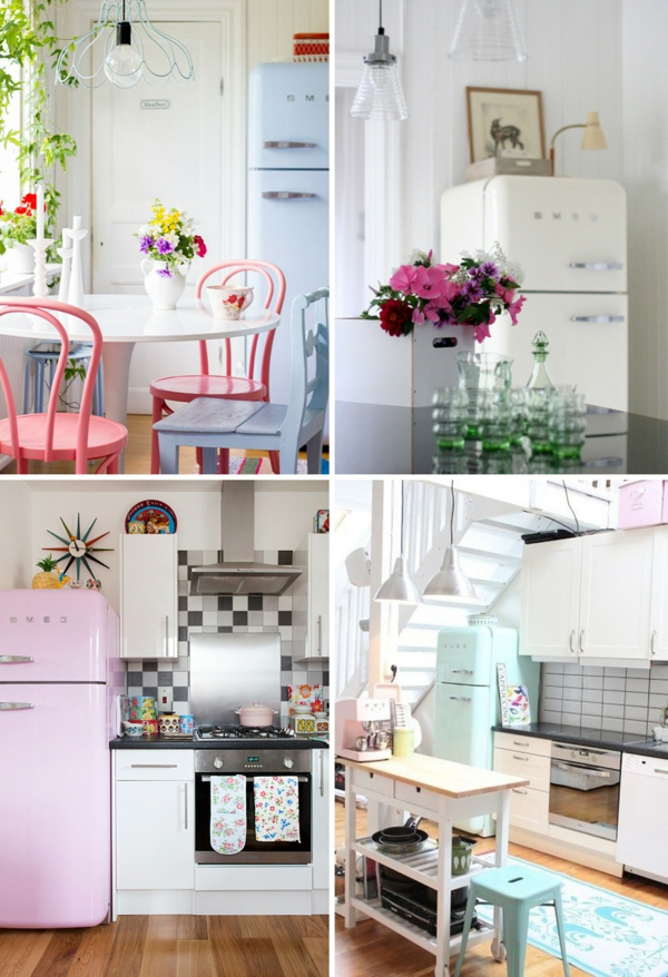 Beautiful Küchen Im Retro Stil Images   Ghostwire.us   Ghostwire.us   Küche
