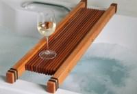 Badewannenablage- 13 Beispiele fr moderne Badeinrichtung