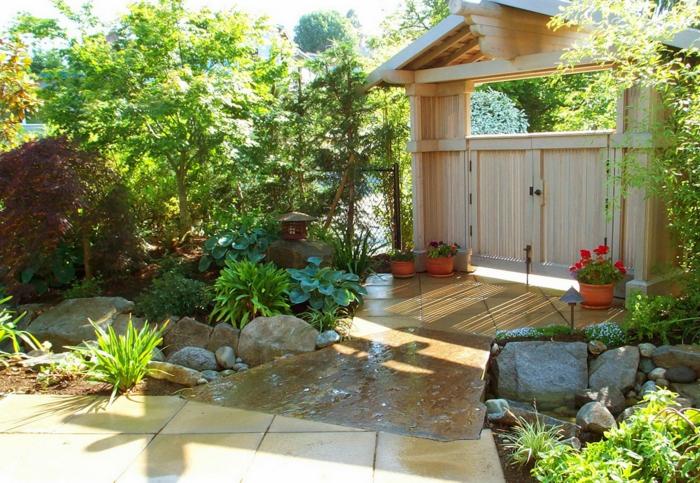 Den Garten verschönern und nach Feng Shui gestalten - garten gestalten bilder