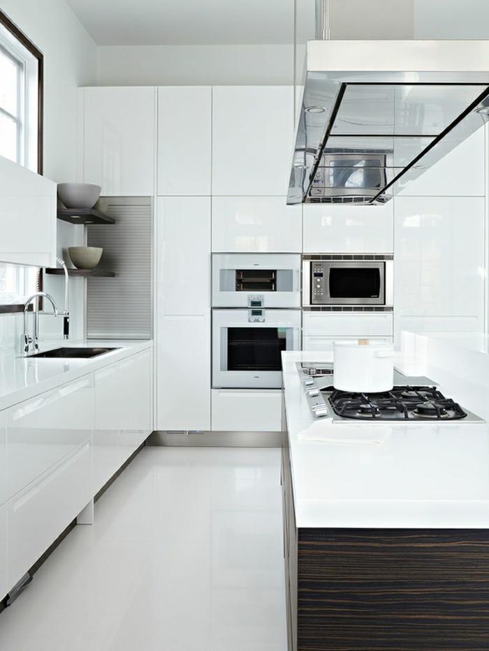 Schwarz Weiße Fliesen Küche