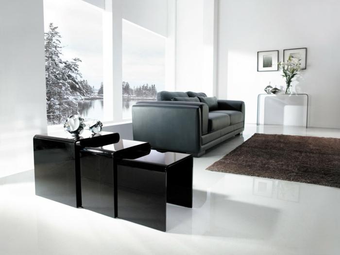 Italien Designer Beistelltisch Wohnzimmer - Design