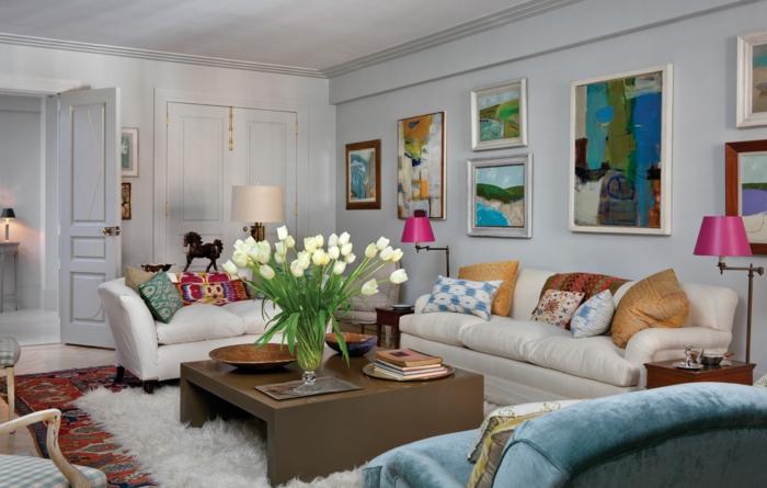 Kleines Wohnzimmer einrichten - Wie schafft man einen - kleines wohnzimmer