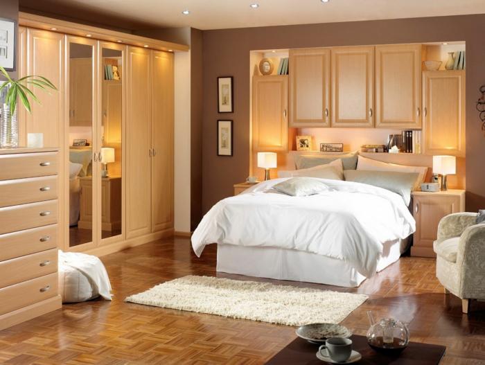 Wohnung einrichten Ideen - Wie gestaltet man kleine Räume ohne - schlafzimmer ideen fur kleine raume