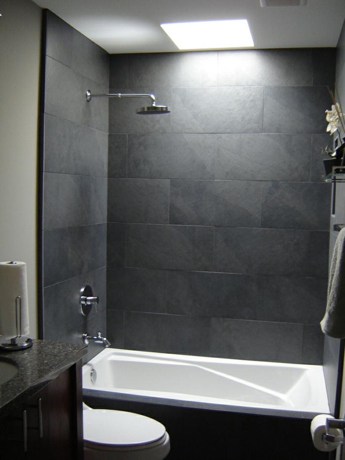 Kleine Badezimmer Ideen Grau u2013 edgetagsinfo - kleines badezimmer fliesen ideen
