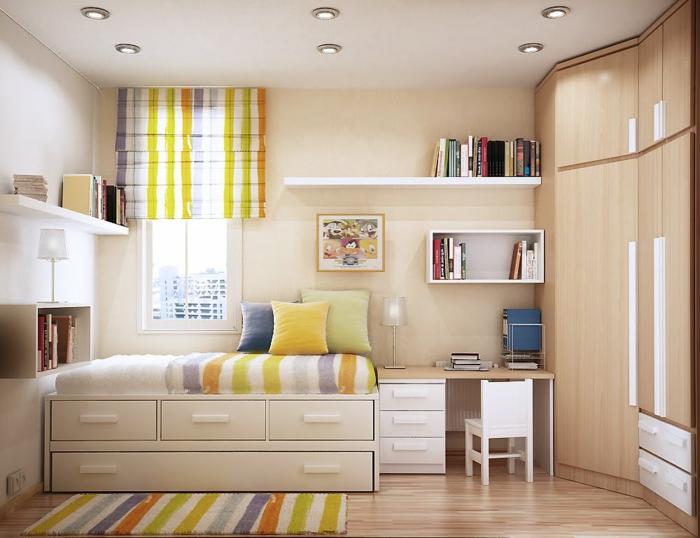 Kleine Zimmer einrichten - Frische Ideen für kleine Räume - kleine zimmer schon einrichten