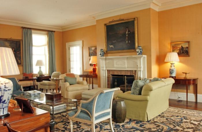 Wohnzimmer Kolonialstil Wandfarbe ~ artownit for  - wohnzimmer kolonialstil