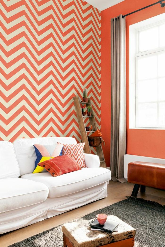 71 Wohnzimmer Tapeten Ideen, wie Sie die Wohnzimmerwände beleben - wande tapezieren ideen
