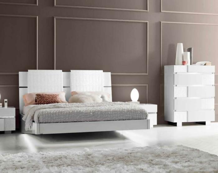 Ausgefallene betten holz  Modernes Designer Doppelbett Holz. moderne schlafzimmer- geben ...