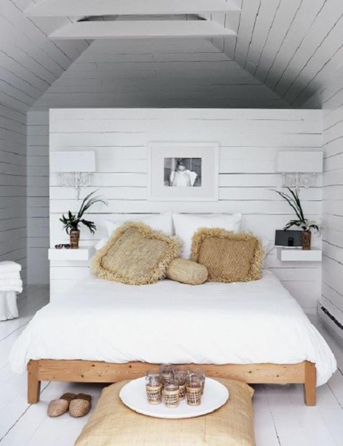 Kleines Schlafzimmer einrichten - 55 stilvolle Wohnideen - schlafzimmer einrichten holz