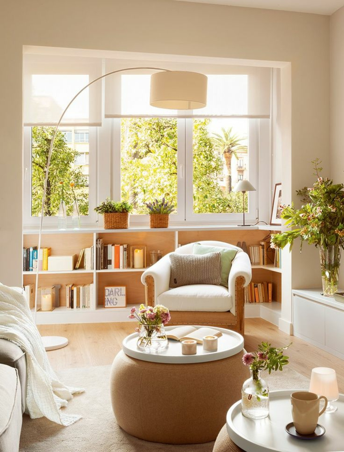 Kleines Wohnzimmer einrichten - 57 tolle Einrichtungsideen für - kleines wohnzimmer