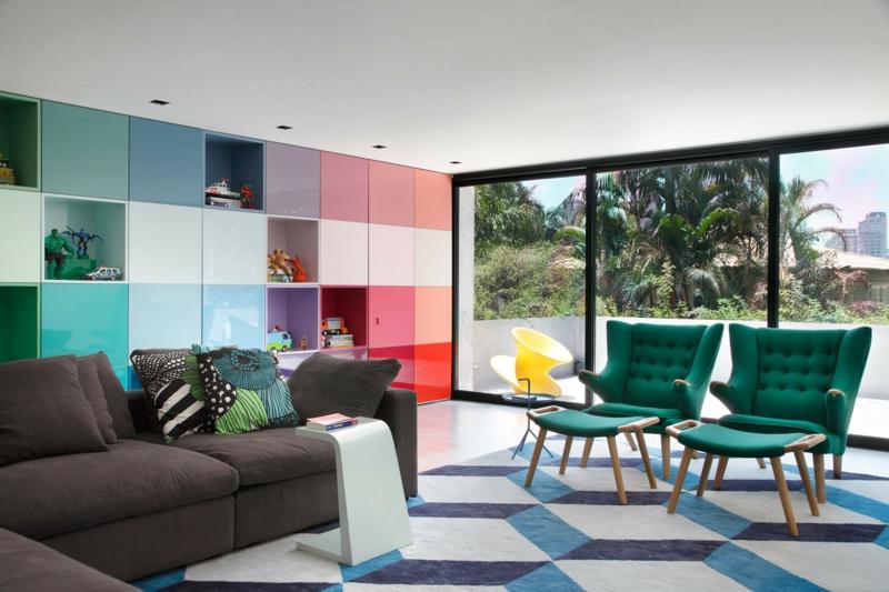 Moderne Wandfarben fürs Jahr 2016 Welche sind die neuen Trendfarben? - wohnzimmer farben fotos