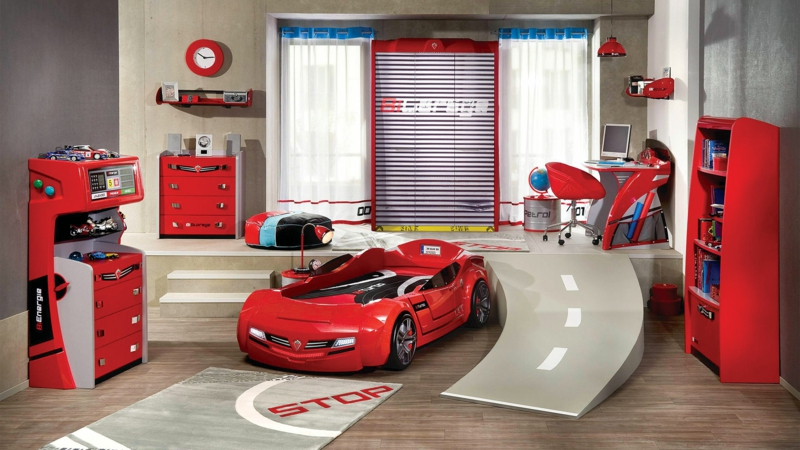 Kinderzimmer Junge 50 Kinderzimmergestaltung Ideen für Jungs - kinderzimmer junge auto
