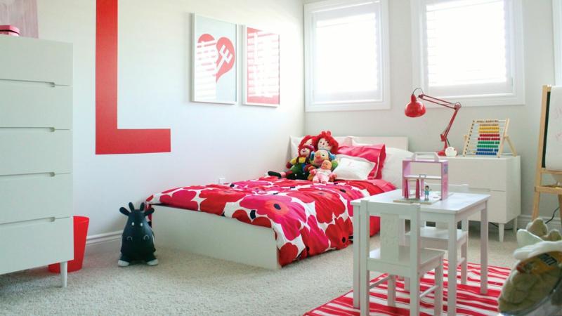 Kinderzimmer Mädchen 60 Einrichtungsideen für Mädchenzimmer - kinderzimmer blau mdchen